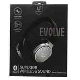 U Speakers, Evolve Wireless Headphones, Black & Space Gray