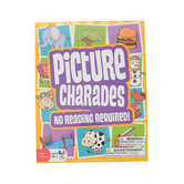 Outset Media, Picture Charades: No Reading Required, Ages 4 and Older, 3 Or More Player Game