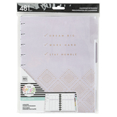 MAMBI, The Happy Planner Girl with Goals Undated Extension, 481 Pieces