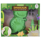 Handstand Kitchen, Dinosaur Large Cake Making Set, 7 Pieces, Ages 6 & Older
