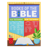 Renewing Minds, Books of the Bible Chart, Multi-colored, 17 x 22 Inches, 1 Each, Grades K-5