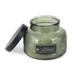 Darsee & David's, Sage Teakwood Embossed Jar Candle, Green, 18 Ounces