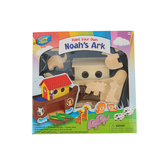 Works of Ahhh, Paint Your Own Noah's Ark Craft Kit, 23 Pieces, Grades PreK-4