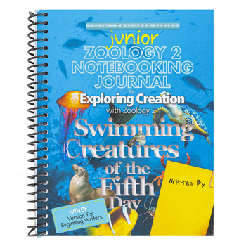 Apologia, Exploring Creation with Zoology 2 Junior Notebooking  Journal, Spiral, Grades K-3