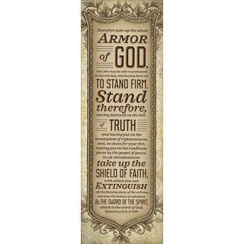 Salt & Light, Armor of God Bookmarks, 2 x 6 inches, 25 Bookmarks