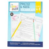 Carson-Dellosa, I'm Lovin' Lit Practice and Assess Vocabulary Workbook, Paperback, Grades 4-8