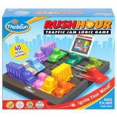 ThinkFun, Rush Hour: Traffic Jam Logic Game, Single Player, Ages 8 and Older