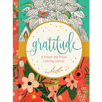 Gratitude: A Prayer and Praise Coloring Journal, by Tyndale
