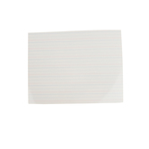 The Brainery, Flexible Dry-Erase Handwriting Board With Lines, 8.5 x 11 Inches, White, 1 Piece