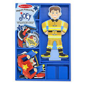 Melissa & Doug, Joey Magnetic Pretend Play Set, Ages 3 to 6 Years, 30 Pieces
