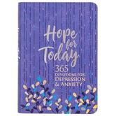 Hope for Today: 365 Devotions for Depression & Anxiety, by BroadStreet Publishing, Imitation Leather