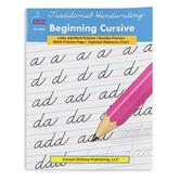 Traditional Handwriting Beginning Cursive Resource Book, Reproducible, 33 Pages, Grades 2-5