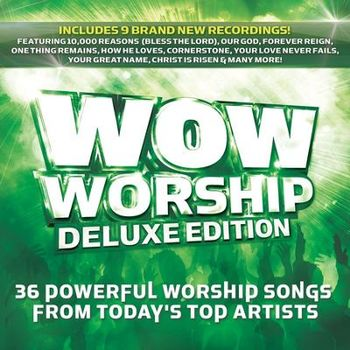 WOW Worship (Lime): Deluxe Edition, by Various Artists, 2 CD Set