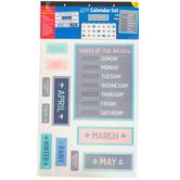 Creative Teaching Press, Calm and Cool Calendar Bulletin Board Set, 67 Pieces