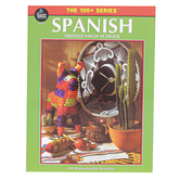 Carson-Dellosa, The 100 plus Series Spanish Resource book, Reproducible, 128 Pages, Grades 6-12