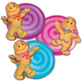 Eureka, Candy Land Cutouts, 5 inches Each, Set of 36