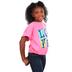 Kerusso, John 13:34 Love Blocks, Kid's Short Sleeve T-shirt, Pink, 3T