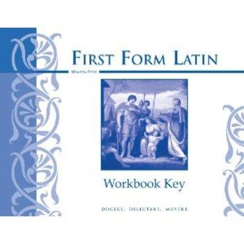 Memoria Press, First Form Latin Workbook Key