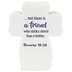 Dicksons, Proverbs 18:24 A Faithful Friend Table Cross, Resin, 3 1/2 inches
