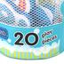 Melissa & Doug, Numbers Tub Stickables Soft Shaped Bath Toys, 20 Pieces