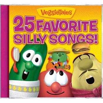 25 Favorite Silly Songs, by VeggieTales, CD