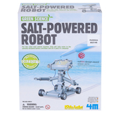 4M, Salt-Powered Robot, 21 Pieces, Ages 8 Years and Older
