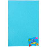 Silly Winks, Glitter Foam Sheet, Pastel Blue, 12 x 18 Inches, 1 Each