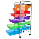 Category 10 Drawer Mobile Tower