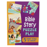 Barbour Kidz, Bible Story Puzzle Play, 1 Each of 5 Puzzles