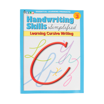 Handwriting Skills Simplified: Learning Cursive Writing,  64 Pages, Paperback, Grade 3