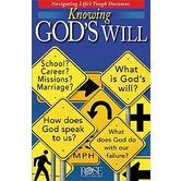 Knowing God's Will Pamphlet, by Rose Publishing