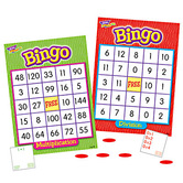Trend, Multiplication and Division Bingo Game, Ages 9 Years and Older, 3 to 36 Players