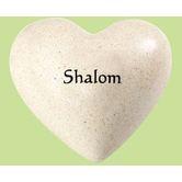 Shalom Heart Stone