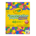 Crayola, Construction Paper Shapes, Various Sizes and Assorted Colors, 48 Sheets