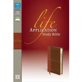 NIV Life Application Study Bible, Duo-Tone, Multiple Colors Available