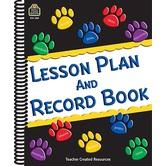 Paw Prints Lesson Plan/Record Book