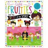 Cutie Fruities: Scratch'n'Sniff And Glitter!, by Make Believe Ideas, Board Book