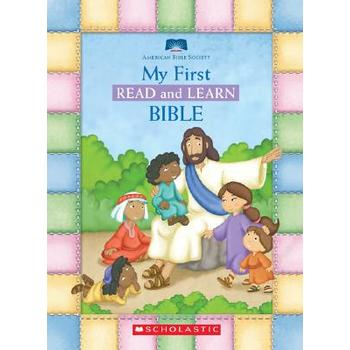 My First Read and Learn Bible, by American Bible Society, Board Books