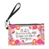 Brownlow Gifts, Ephesians 3:20 Be Fearless Zippered Bag, Canvas, 8 1/2 x 5 inches
