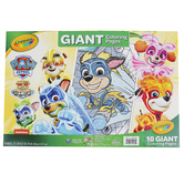 Crayola, Giant Coloring Pages Nickelodeon's Paw Patrol, 12 1/8 x 18 7/8 Inches, 18 Pages