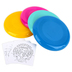 Playside Creations, Color Me Frisbees, Assorted Colors, Pack of 4