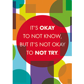 It's Okay - Motivational Poster