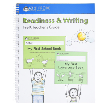 Handwriting Without Tears Readiness and Writing Pre-K Teacher's Guide, 2020 Edition, Spiral