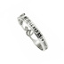 Spirit and Truth, Be Still, Psalm 46:10, Handwriting Ring, Silver Plated