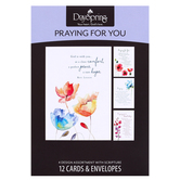 DaySpring, Watercolor Prayers, Praying for You Cards, 12 Cards