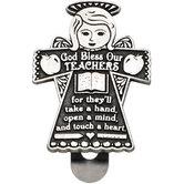Abbey and CA Gift, Teachers Visor Clip