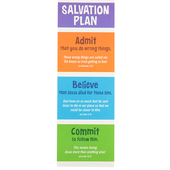 Renewing Minds, Salvation Plan Bookmarks, Pack of 36