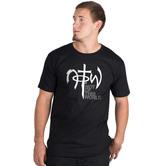 NOTW, Classic Logo, Men's Short Sleeve T-Shirt, Black