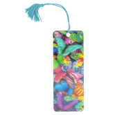 Artgame, Butterfly Magic 3D Lenticular Art Tassel Bookmark, 2 1/4 x 6 inches
