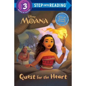 Moana, Quest for the Heart, Step Into Reading, Level 3, by RH Disney, Paperback